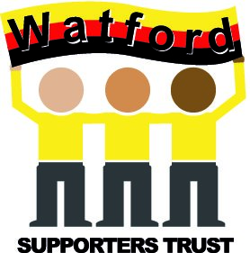 Logo for Watford Supporters Trust