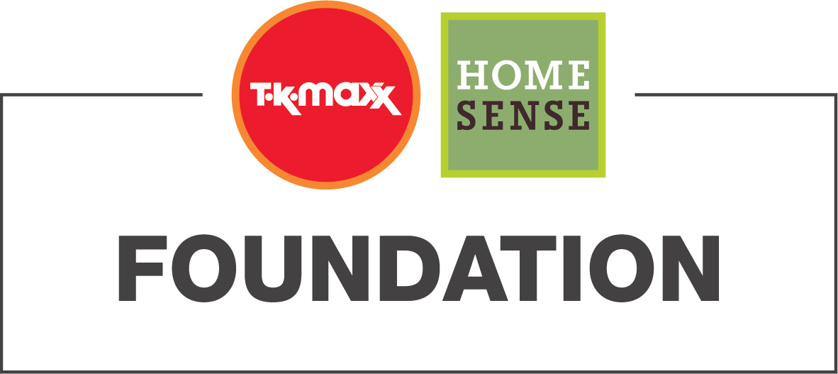 Logo for The TK Maxx & Homesense Foundation