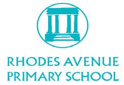 Logo for Rhodes Avenue Primary School